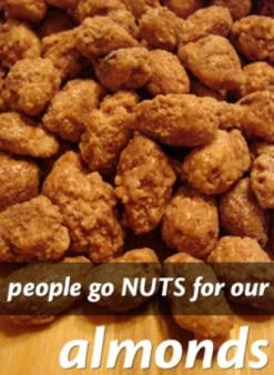 cinnamon almonds